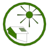 solar thermal icon